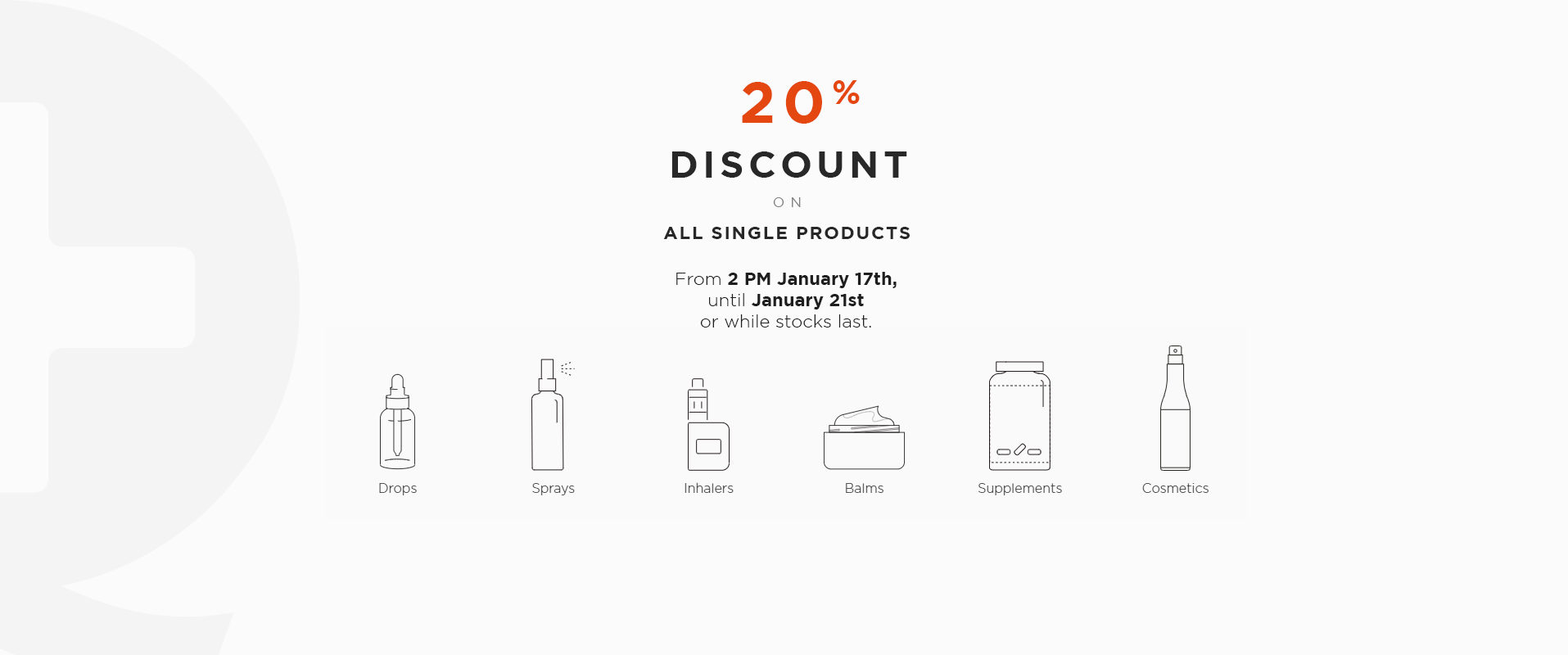 20% discount for Wetality Products