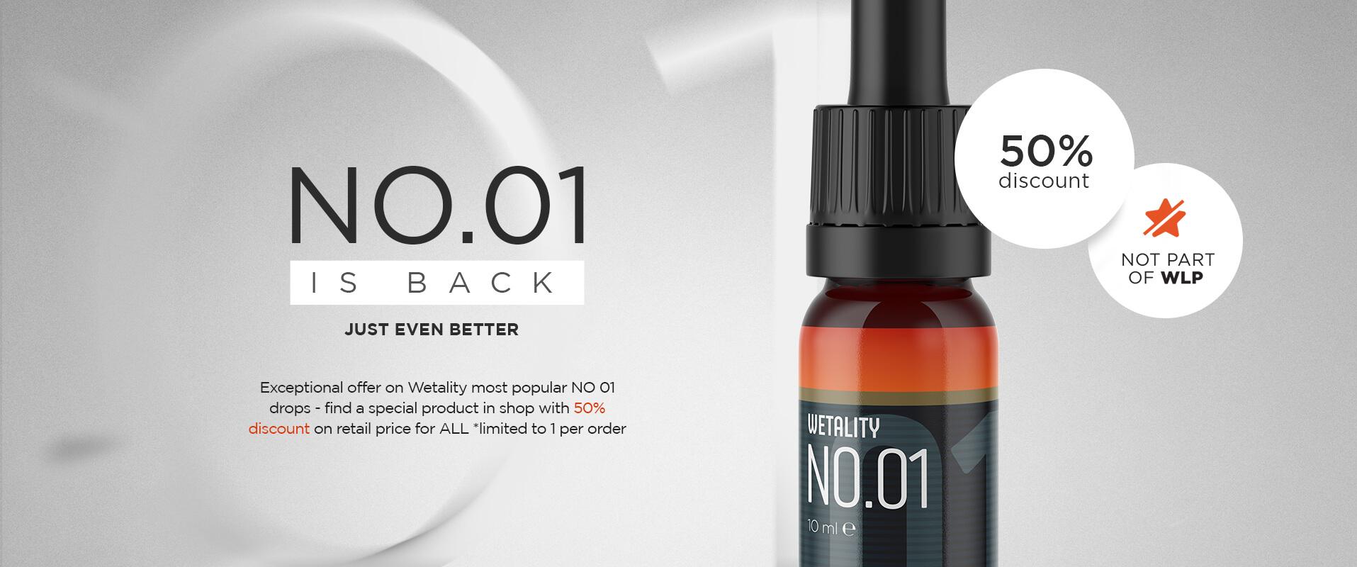 NO.01 - special offer