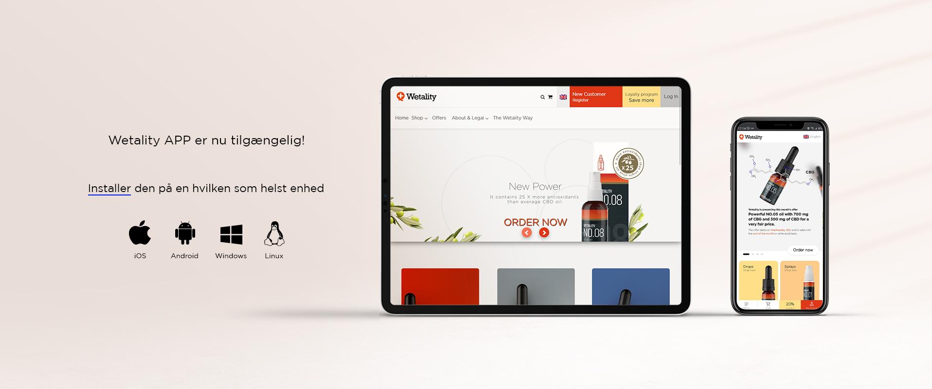 Progressive web app banner
