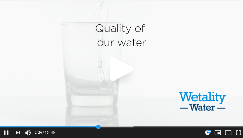 Quality of our water