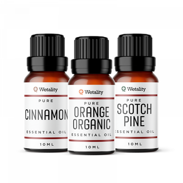 Wetality holiday essential oils package