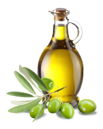 (English) olive oil in bottle