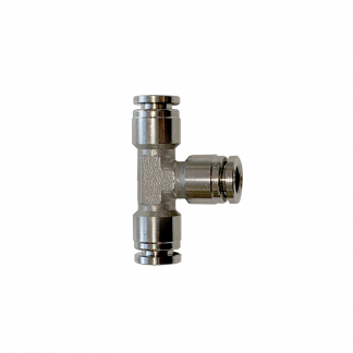 Stainless steel T-shaped nipple connector