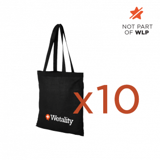 Wetality Shopping bag x 10