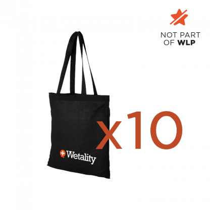 Wetality Shopping bag x 10